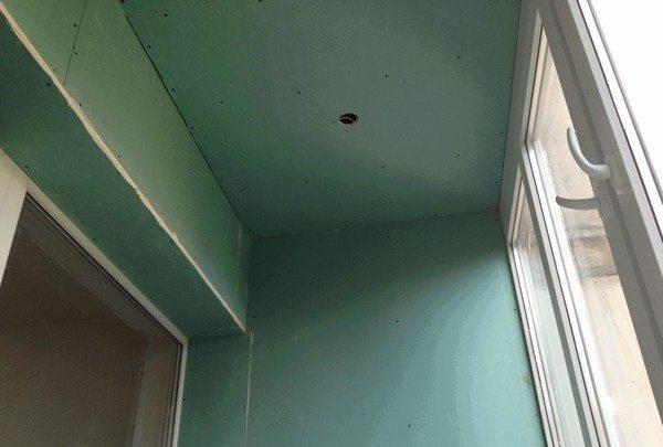 Монтаж гипсокартона на потолок: установка профилей и листов.