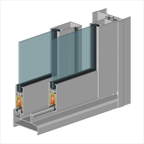 Двухконтурный легкий алюминиевый вариант — оптимальное решение для балкона