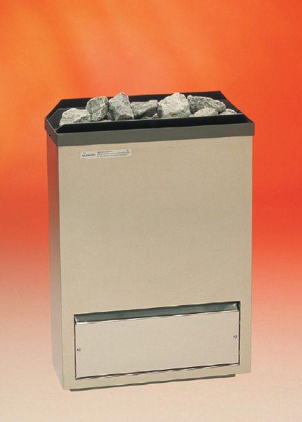 электрическая печь для сауны, с загрузкой камней до 15 кг