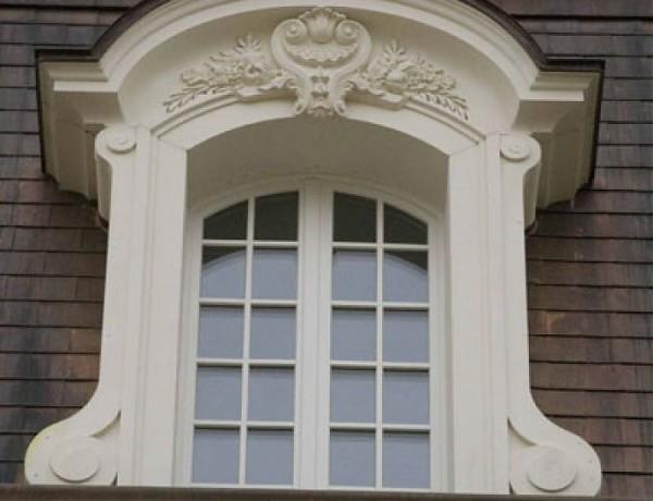 Фото изысканного обрамления окна