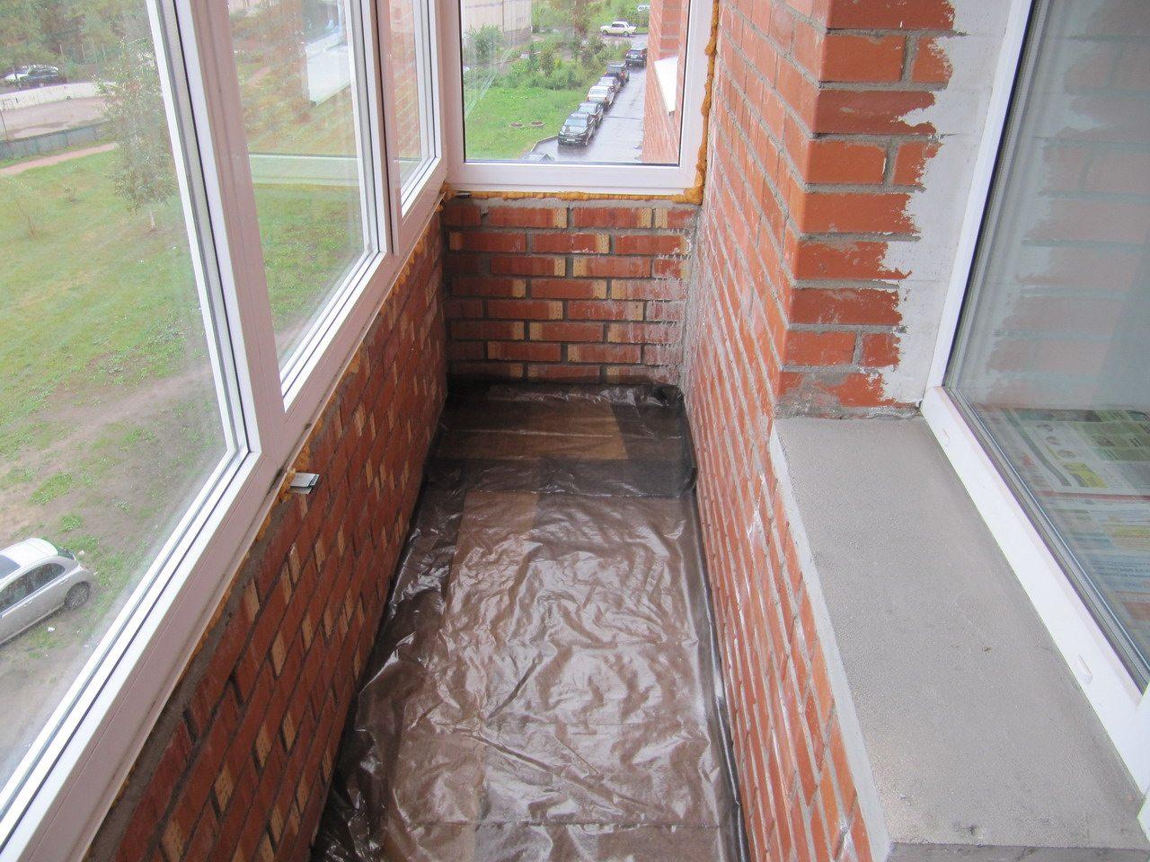 Как отремонтировать балкон своими руками.