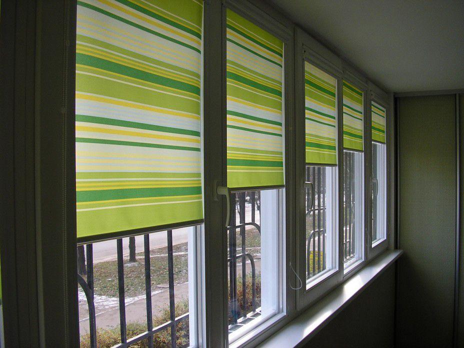 Жалюзи на балкон: горизонтальные и вертикальные изделия.