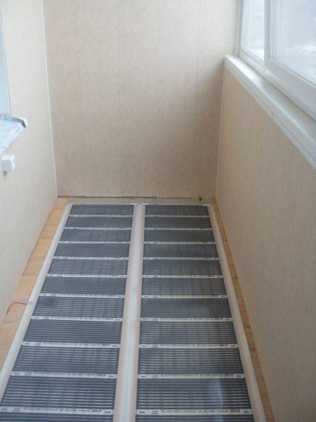 Инфракрасный теплый пол — новое решение на рынке, идеально подходящее для балконов и лоджий
