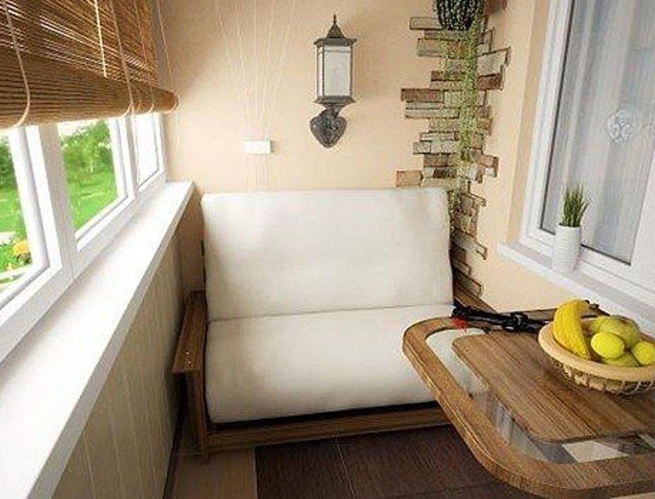 Идеи отделки балкона 6 метров. - дизайн маленьких лоджий - к.