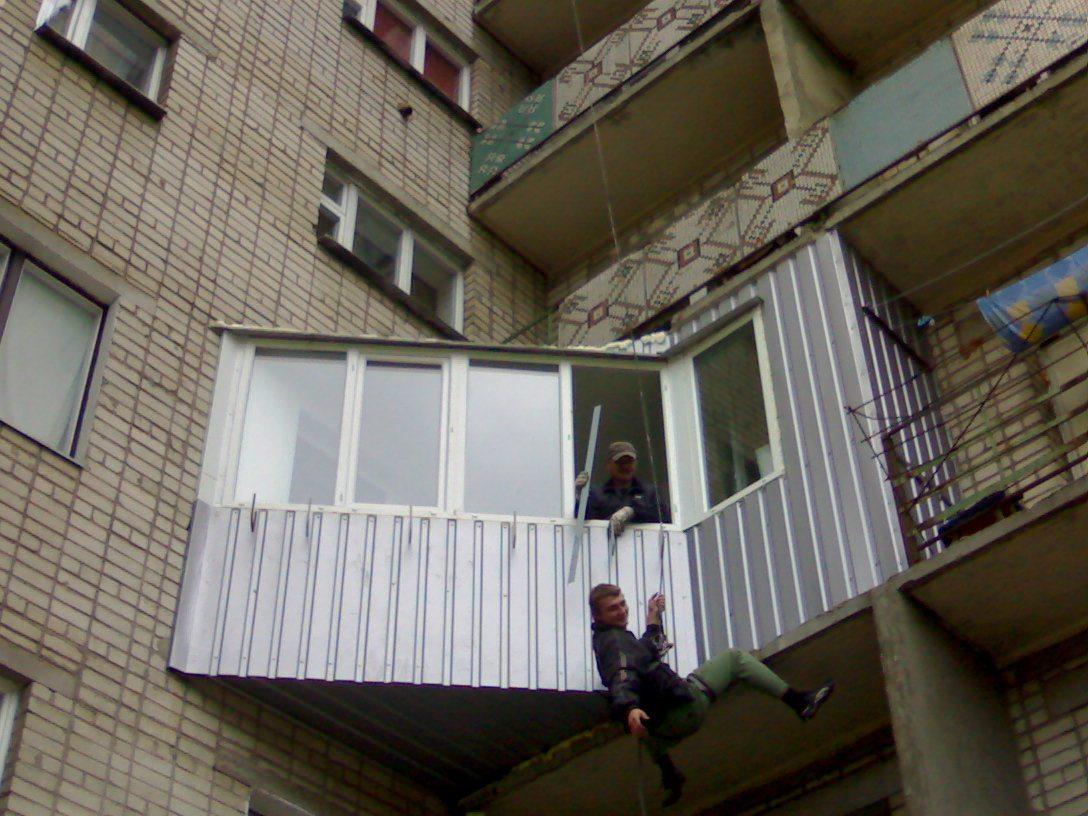 Интересные факты об отделке балконов. - окна из пластика - к.