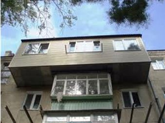 как расширить балкон