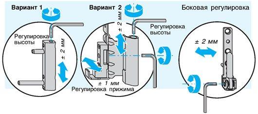 как регулировать балконную