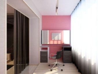 Интерьер балконной комнаты