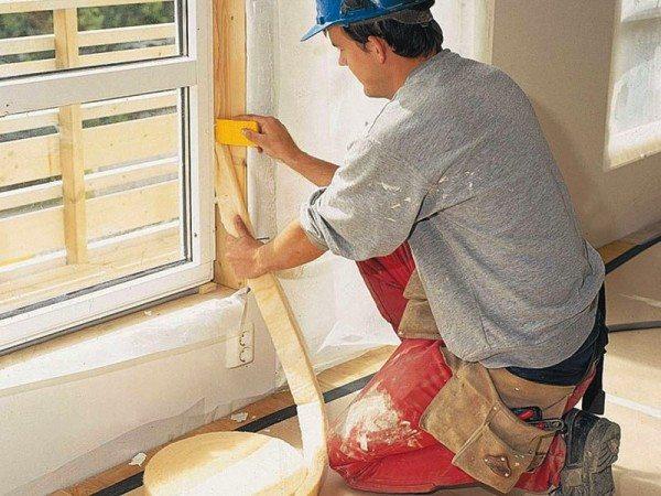Конопачивание деревянных окон