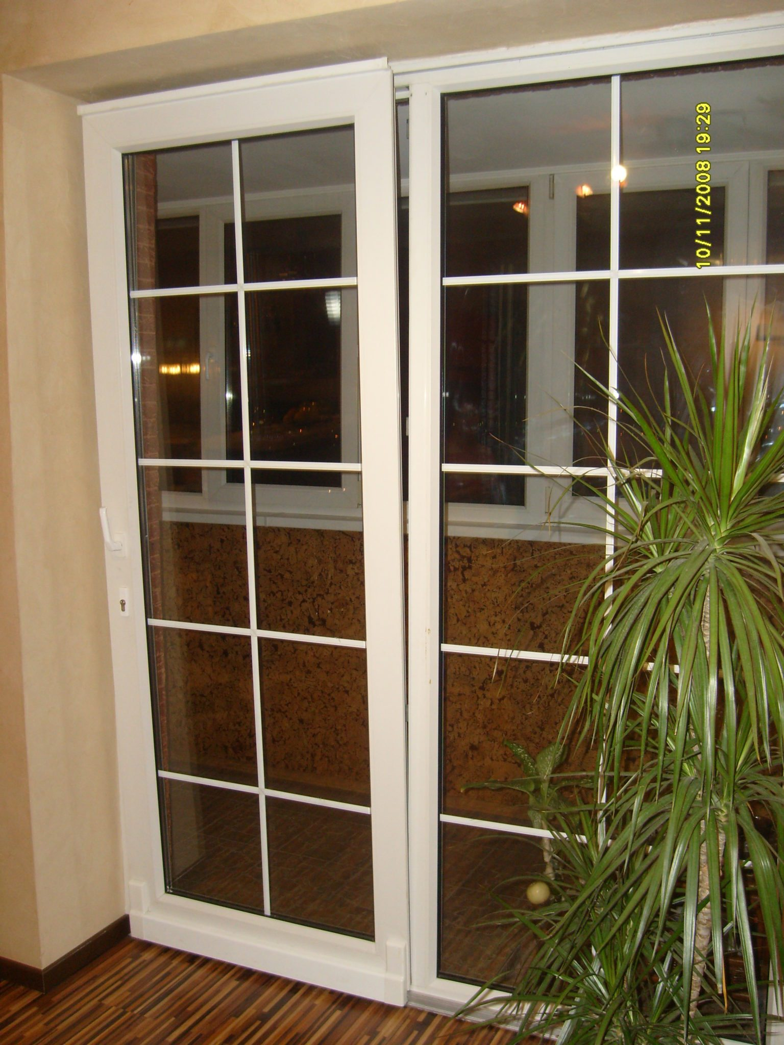 Раздвижные стекла для балкона..