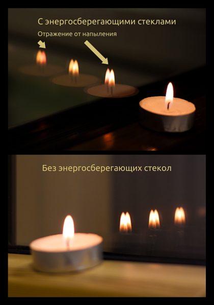 Металлическое напыление незначительно меняет спектр отраженного света.
