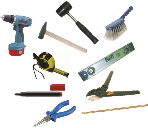 Минимальный набор инструментов для монтажа пластиковых окон