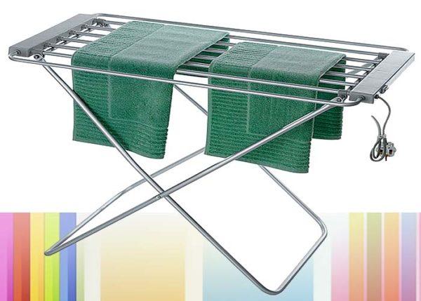 Наиболее распространённый тип электрической сушилки для белья