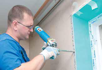 Некоторые мастера предпочитают производить монтаж панелей на посадочный гипс или другой специальный материал