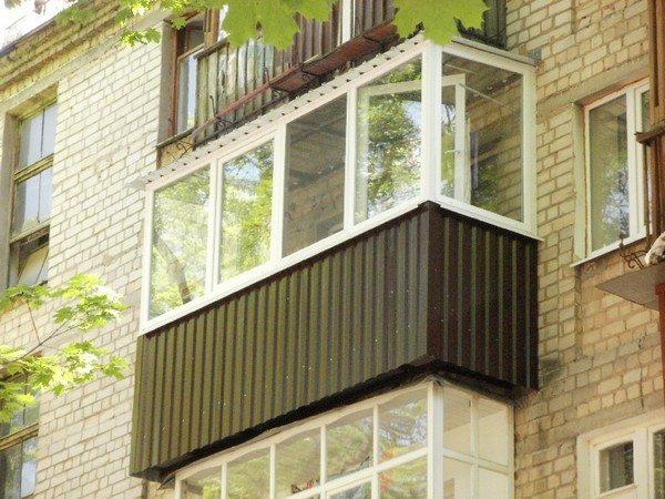 обделка балконов