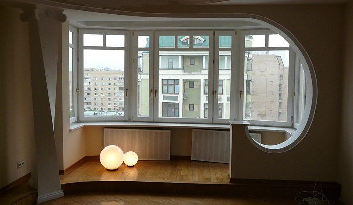балкон соединить с комнатой фото