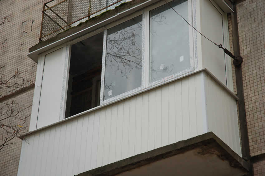 Балконы снаружи пластик фото. - фото отчет - каталог статей .