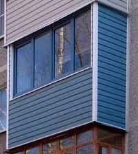 обшивка балкона МДФ