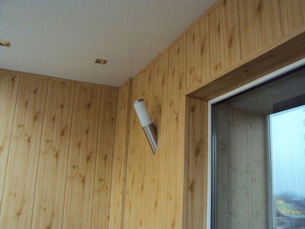 обшивка лоджий и балконов