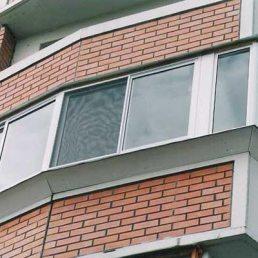 Вынос окна на лоджии