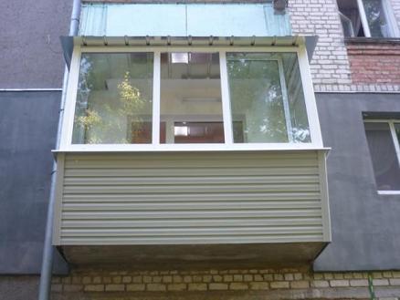 Балкон из сайдинга