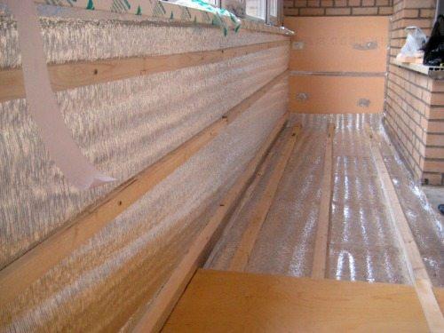 отделка балкона внутренняя