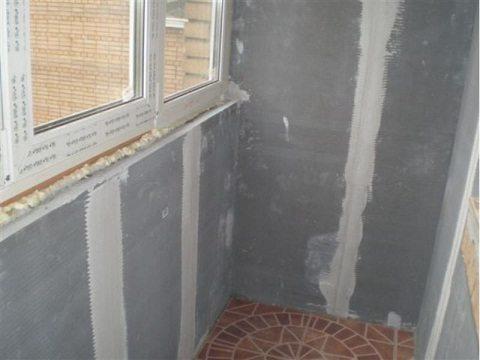 отделка балконов и лоджий своими руками