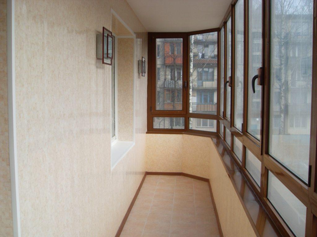 отделка балконы