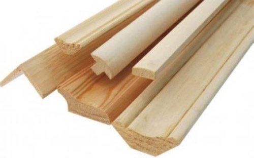 Деревянные декоративные профили для отделки стыков