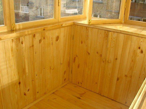 Лоджии деревянные