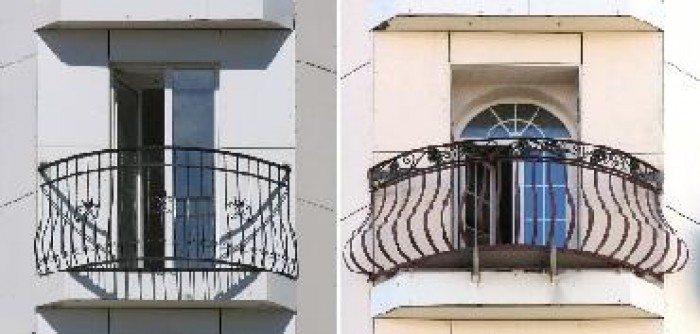 Старые французские балконы
