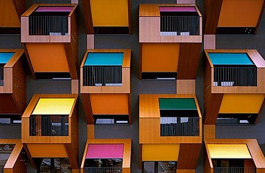 Балконы в Токио. Ресторан Niimi