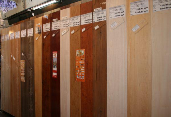 Панели из МДФ достоверно имитируют самые разные породы древесины
