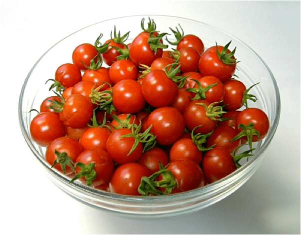 Мелкоплодные помидорчики – сбор урожая