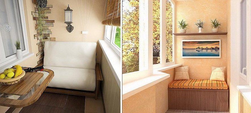 Ремонт лоджии: внутренняя отделка, остекление и утепление.