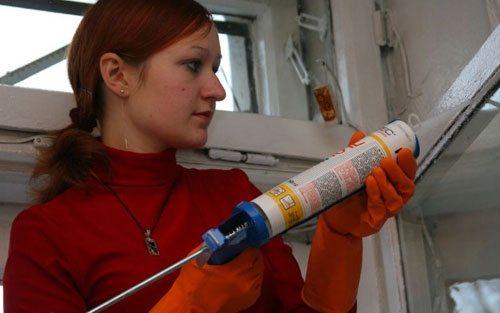 Применение силиконового герметика