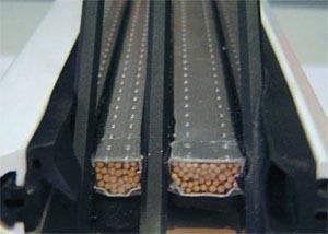 Принцип размещения планки с осушителем в стеклопакете