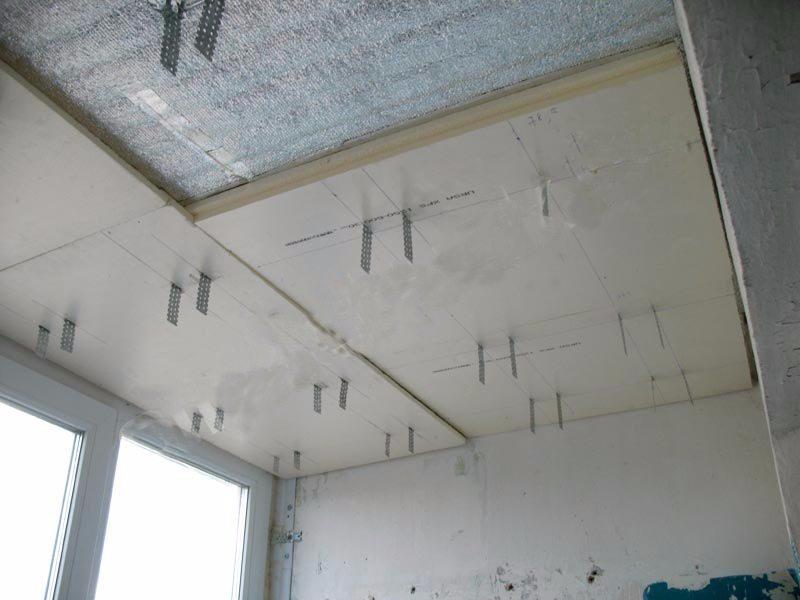 Утепление балкона своими руками: отделка пола, стен.