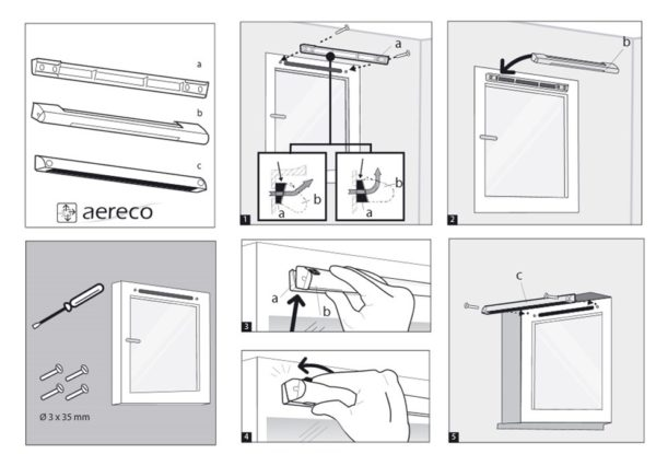 Рекомендации по установке клапана от производителя