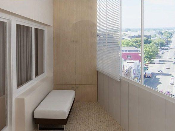 Пример качественно отремонтированного балкона