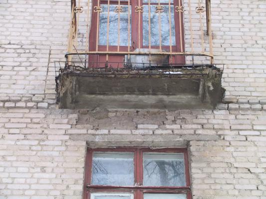 Балконные плиты: ремонт своими руками.