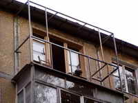 Размеры балкона не меняются