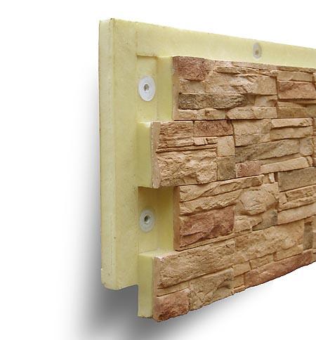 Термопанели сочетают в себе отделочный фасадный материал и утеплитель