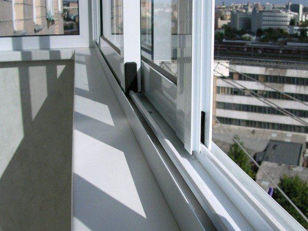 Остекление балконов алюминиевым профилем своими руками видео