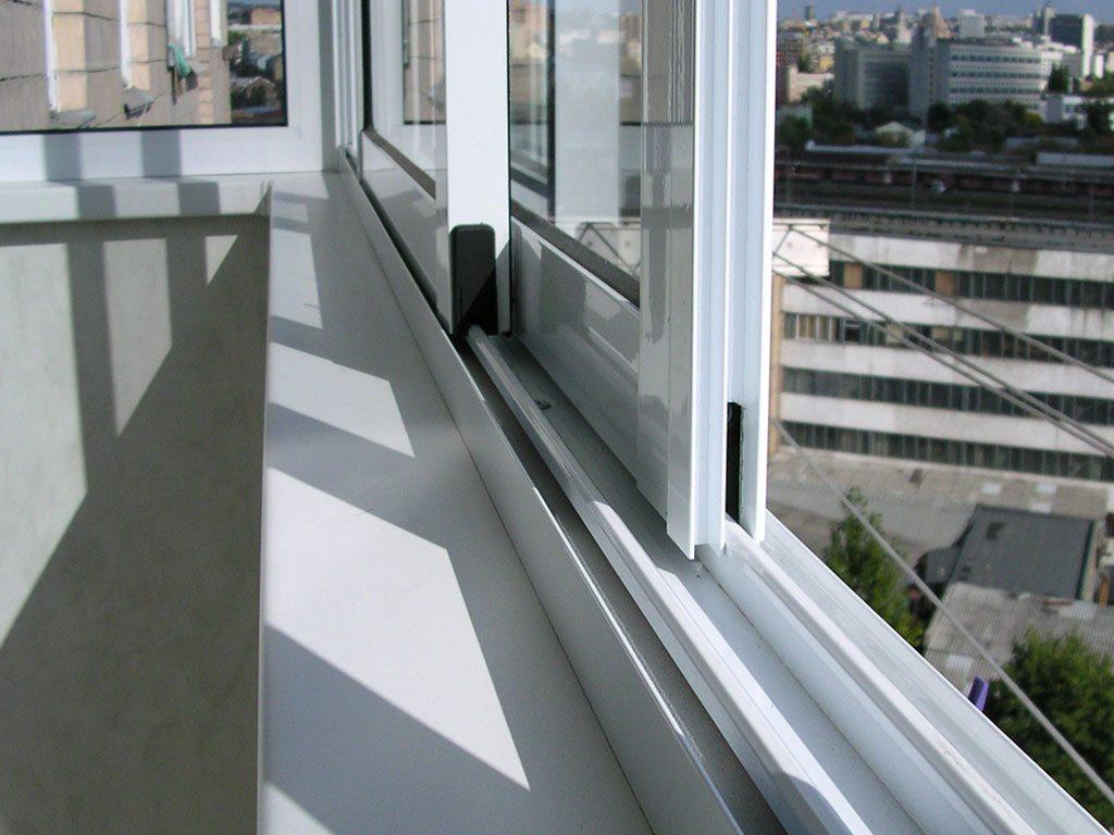 балкон алюминий алютекс схема монтажа