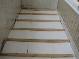 утепление балкона изнутри пенопластом