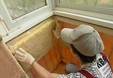 утеплитель балкона