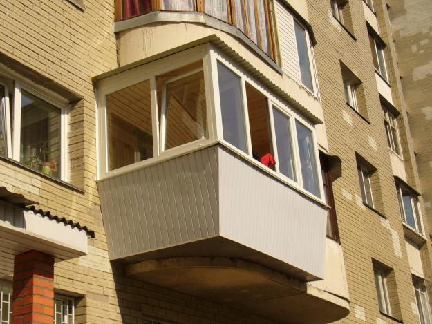 Увеличенный размер балкона