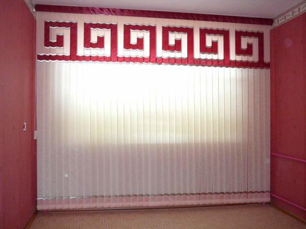 Узоры подбираются по стилистике оформления помещения