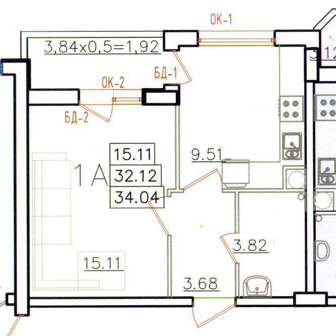 входит ли лоджия в общую площадь квартиры